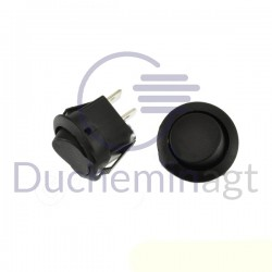 Bouton ON/OFF noir 12V